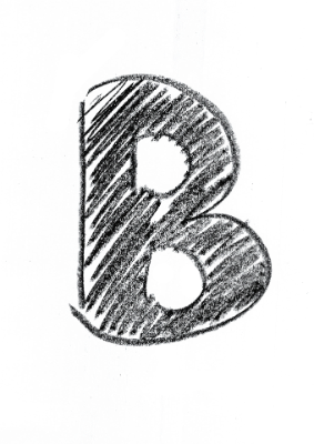 Image of a B